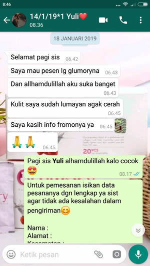 testimoni glumory beauty drink